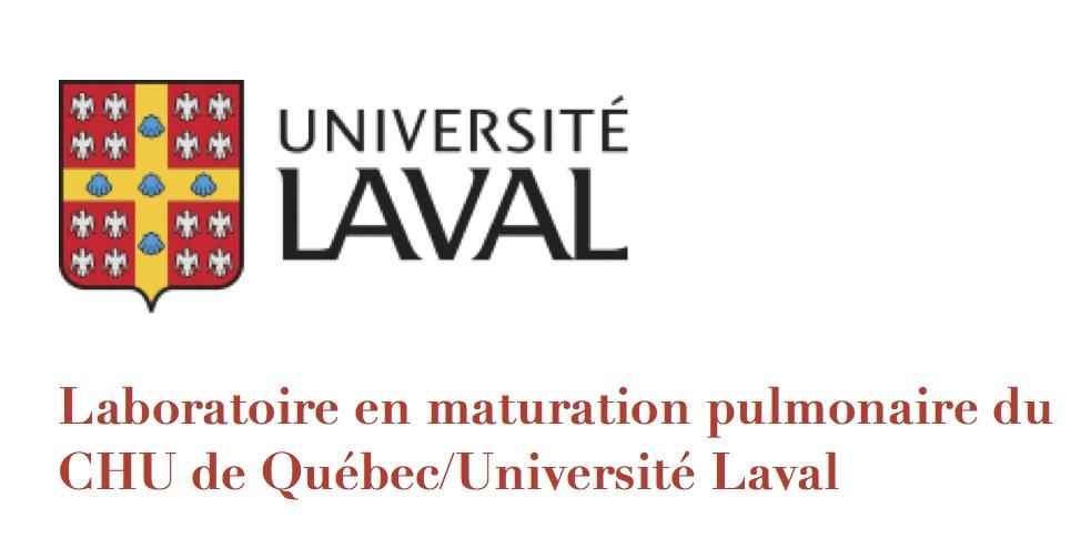 Laboratoire en maturation pulmonaire du CHU de Québec