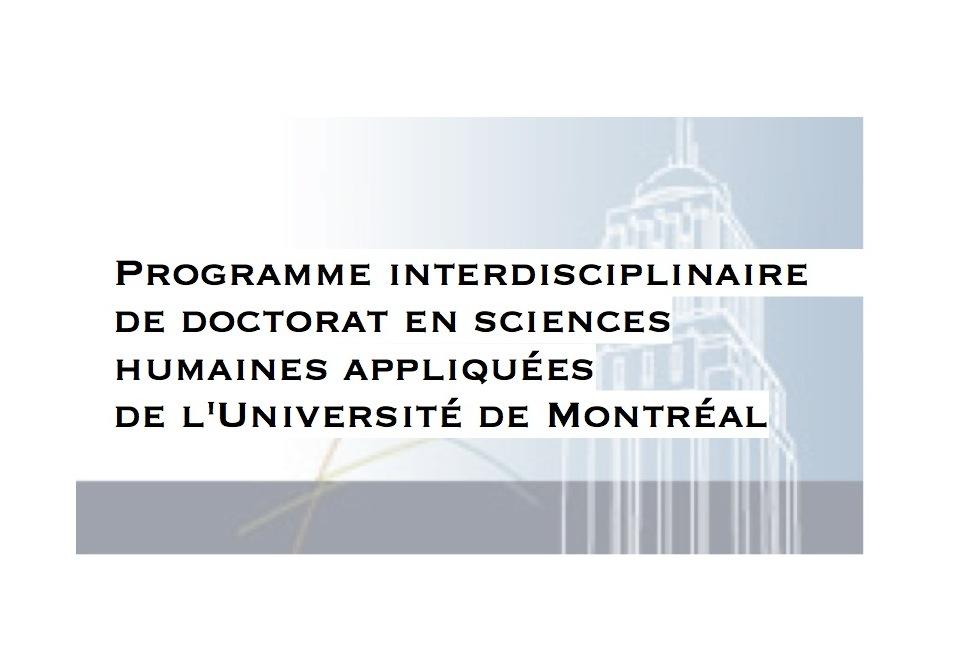 Programme interdisciplinaire